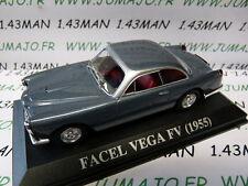 voiture 1/43 IXO Altaya : FACEL VEGA FV 1955