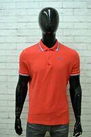 Polo Uomo DIADORA Taglia Size XL Maglia Shirt Manica Corta  Maglietta in Cotone