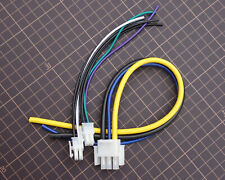 3-Pin Power Cable and Front Rear 4 pin Speaker outputs Harness For Alpine 3527
