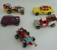 Corgi Juniors x 5 Toms Go Cat,Jerry's Banger,Mini Cooper,Ford Dragster ,Truck