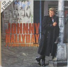 """JOHNNY HALLYDAY - CD SINGLE """"J'LA CROISE TOUS LES MATINS"""""""