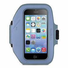 Belkin Armband Case Cover for Apple iPhone 5 5s 5c SE - Retail New - Pale Blue