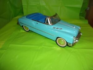 1950's BLUE BUICK CONVERTIBLE FRICTION DRIVE TOY CAR !!