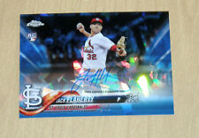 2018 Topps Sapphire Chrome autograph BLUE Refractor rookie Jack Flaherty