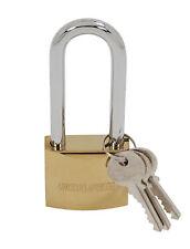 50 mm KT Long Shank Lucchetto-Heavy Duty anello - 3 chiavi incluse