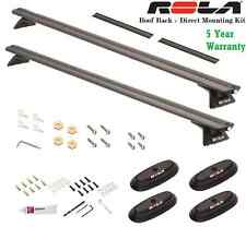 96-15 TOYOTA TUNDRA ROLA ROOF RACK CROSS BARS COMPLTE W/ DIRECT MOUNT KIT 165LB