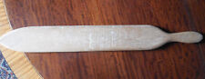 Vtg 1967 Fraternity Signed Cricket Bat ~ Beta Upsilon Omega ~ U of Pittsburgh?