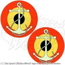 "BELGIO Belga Marina Militare AVIAZIONE NAVALE Adesivi Tondi 75mm 3"" Stickers x2"