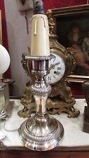 ancien chandelier en bronze argenté maison mourier paris st LXVI ep1950 bougeoir