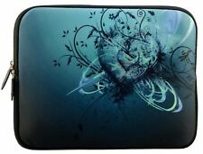 """LUXBURG 17"""" Inch Design Laptop Notebook Sleeve Soft Case Bag Cover #EH"""