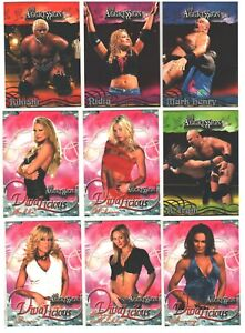 """🔥🔥 2002 2003 Fleer WWE WWF Aggression All Access pick Your Favorite """"The Rock"""""""