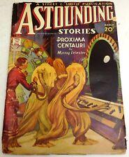 Astounding Stories – US pulp – March 1935 – Vol.15 No.1 - Leinster, Gallun