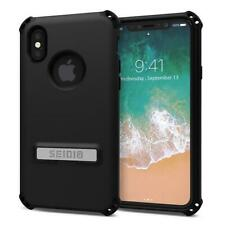 Seidio Dilex Case (with Kickstand) (Black) for iPhone X or iPhone Xs