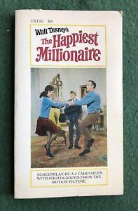Walt Disney's Happiest Millionaire paperback movie adaption Scholastic Book Ser