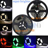 ElcPark 16ft SMD 5630 LED Flexible Waterproof Strip Light Various Color DC12V 6A