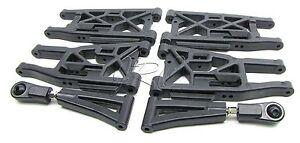 TROPHY Buggy A-ARMS suspension front/rear 101017  (HPI flux 107016
