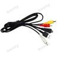 USB & AV Cable for Sony DSC-W350B W350L W350P W350S W360 W360B WX5 WX5B