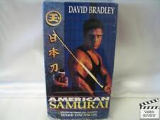 American Samurai * VHS * David Bradley, Mark Dacascos