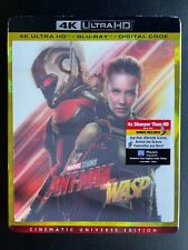 Ant-Man and the Wasp – 4K UHD + Blu Ray with 3D LENTICULAR SLIPCOVER – LIKE NEW!