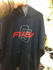 FUBU HOODY IN NAVY /RED  SMALL MED  OR  XX/L AT £22 THICK JERSYHOODY