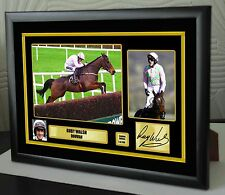 "Ruby Walsh Douvan Limited Edition Framed Canvas  Print Signed ""Great Gift"""