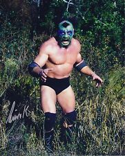 The Missing Link #1 autographed 8x10  WWF WCCW  Free Shipping (Deceased)