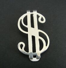 Money Clip Silver Dollar Sign Symbol Sterling 925 Money Clip