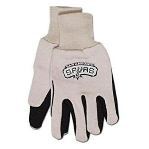 San Antonio Spurs Embroidered Utility Gloves Adult Size