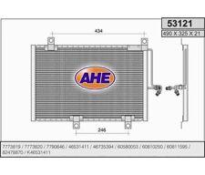 Kondensator Klimaanlage Klimakühler ALFA ROMEO 145 I 1.9 Turbodiesel AHE  53121
