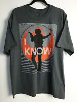 Disney Parks Men's Gray T-Shirt 429 Star Wars I Know Hans Solo Size XL