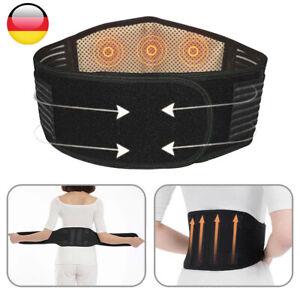 Rücken Stützgürtel Rückenbandage Lendenwirbelstütze Atmungsaktiver Verstellbare