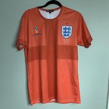 FIFA World Cup #9 England Croatia 11.17.18 Mens Orange T-Shirt Jersey Size L