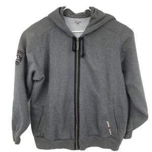 Reebok Crossfit Men's Size 2XL Gray Full Zip Hoodie Jacket