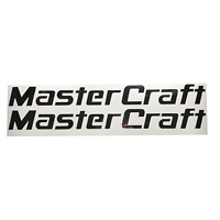 Mastercraft Boats Mirror Chrome Decal (Pair)