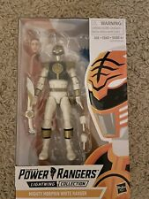 power rangers lightning collection Wave 7 Mmpr White Ranger IN HAND