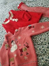 Girls Next Christmas Outfit 6-9 Months