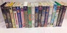 18 Kids & Family VHS Video Movies Children Disney Classics Cartoons