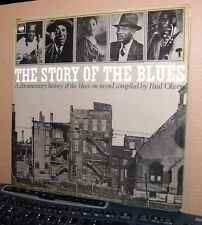 "VARIOUS/PAUL OLIVER.  ""THE STORY OF THE BLUES""  CBS UK 1969 DBL. G/F EX COND."