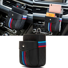Car Inner Organizers Bag For BMW Series M Sports Car Interior Accessories Black