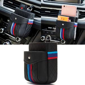 Car Inner Organizers Bag For BMW Series M Sports Car Interior Accessories Black