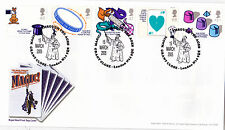 """2005. MAGIC.FDC. with  """" MAGIC THRU THE AGES """"  SPECIAL HANDSTAMP"""