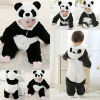 Baby Boy Girl Carnival Panda Fancy Party Costume WARM Outfit Clothes Cosplay