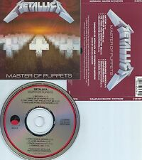 METALLICA-MASTER OF PUPPETS-86-USA-ELEKTRA/E/M VENTURES REC.60439-2 RE-2-CD-MINT