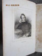 """Lamartine """" Histoire des Girondins """"   4 volumes   1848"""