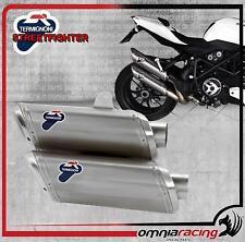 Termignoni D106 Terminali Scarico 80dB Titanio Ducati StreetFighter 1098 09>14