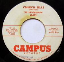 PHILADELPHIANS 45 Church bells / Coming home to you CAMPUS Doowop e7650
