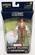 Marvel Legends Super Villains LADY DEATHSTRIKE 6? Figure Brand New HTF
