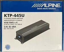 Alpine KTP-445U 4-channel 180 W Power Pack compact car Amplifier NEW