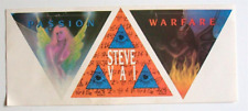 Steve Vai Sticker Set Passion And Warfare Vintage *Rare* Relativity 1990 Guitar