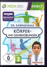 Dr. Kawashimas Körper- und Gehirnübungen (Kinect erforderlich) XBOX 360 Game